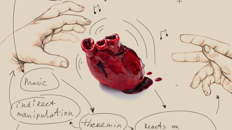 Heart - An Interactive Music Object