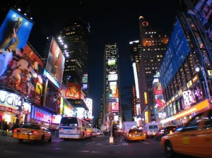 Photo of Times Square, NYC