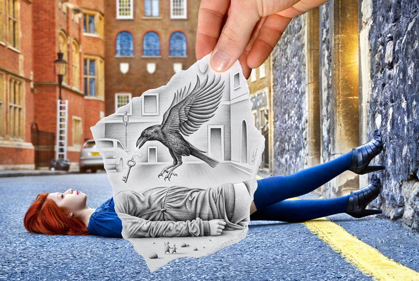 Artwork by Ben Heine