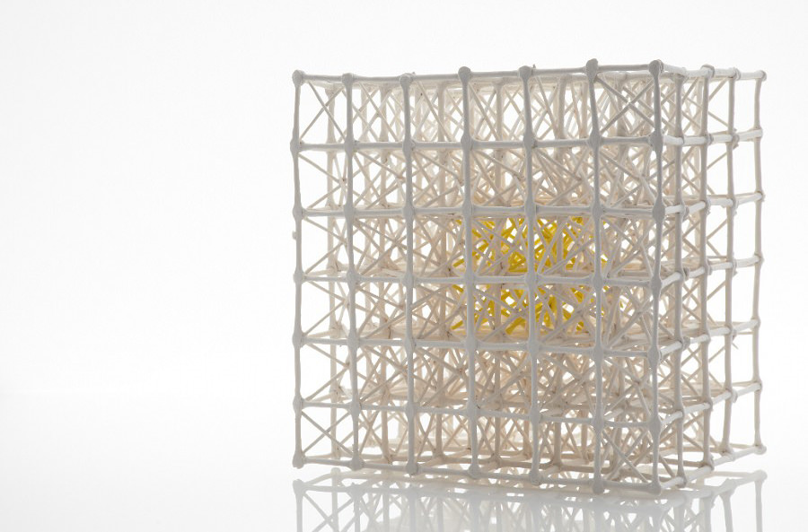 Radiolaria Grid, Sculpture by Nuala O'Donovan