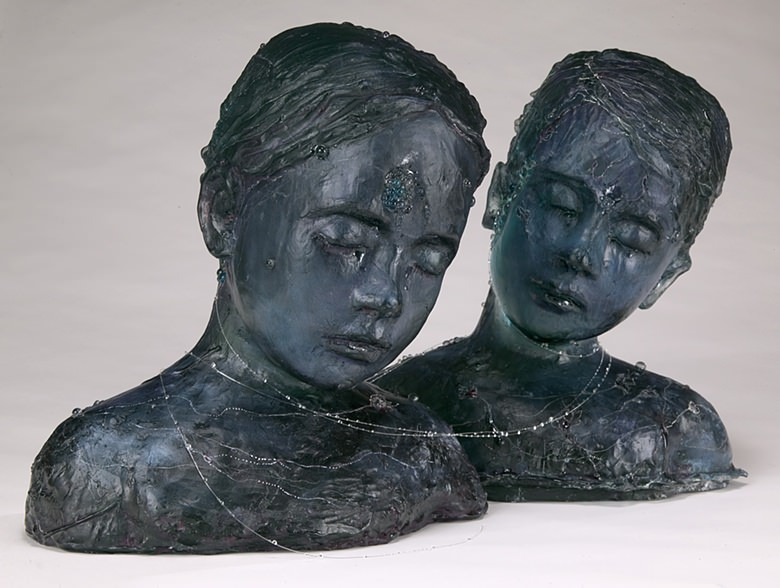 Sculpture by Sibylle Peretti