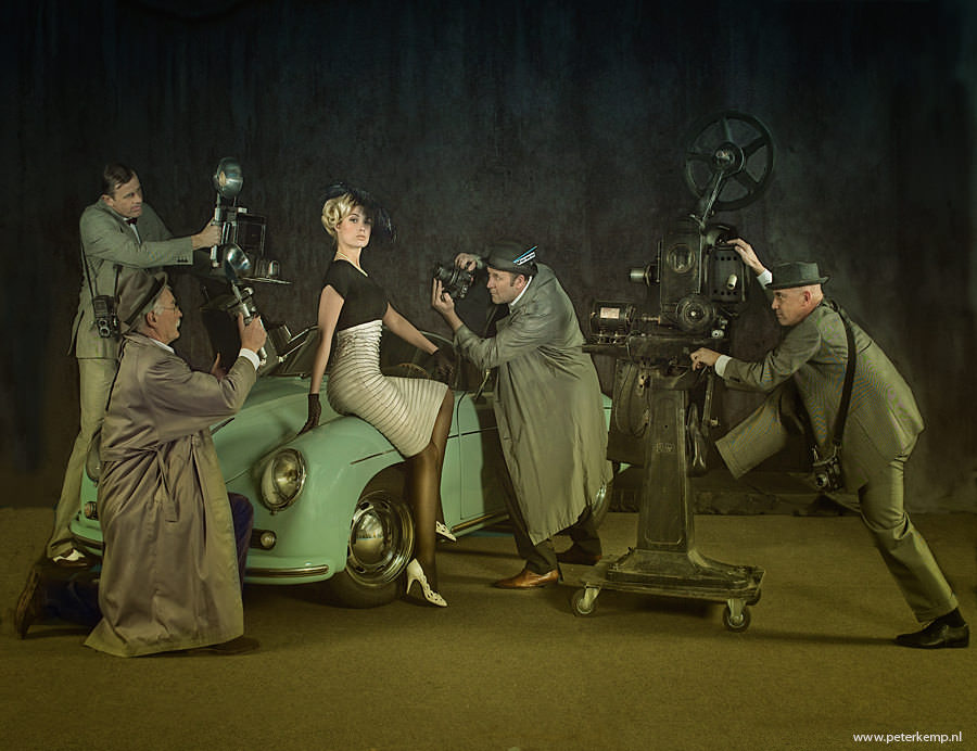 Moviestar, Photography by Peter Kemp