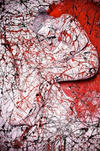 Splatter, Body Painting by Trina Merry