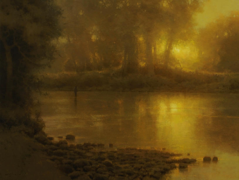 A Piece of Heaven, Painting by Brent Cotton