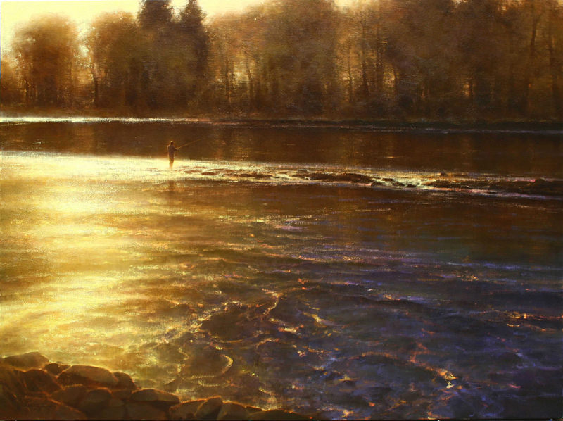 Symphony of the River, Painting by Brent Cotton