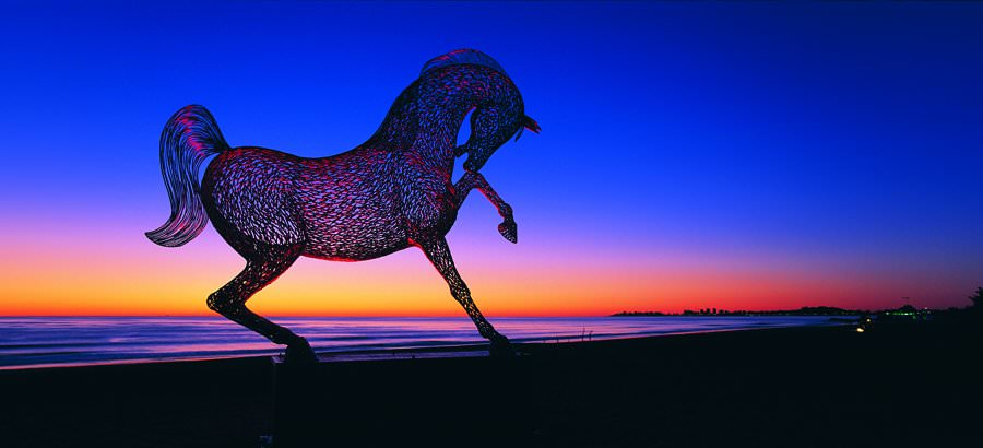Arabesque, Sculpture by Andy Scott