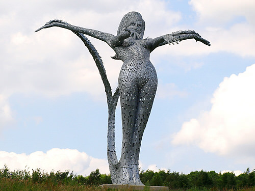 Arria, Steel Sculpture by Andy Scott