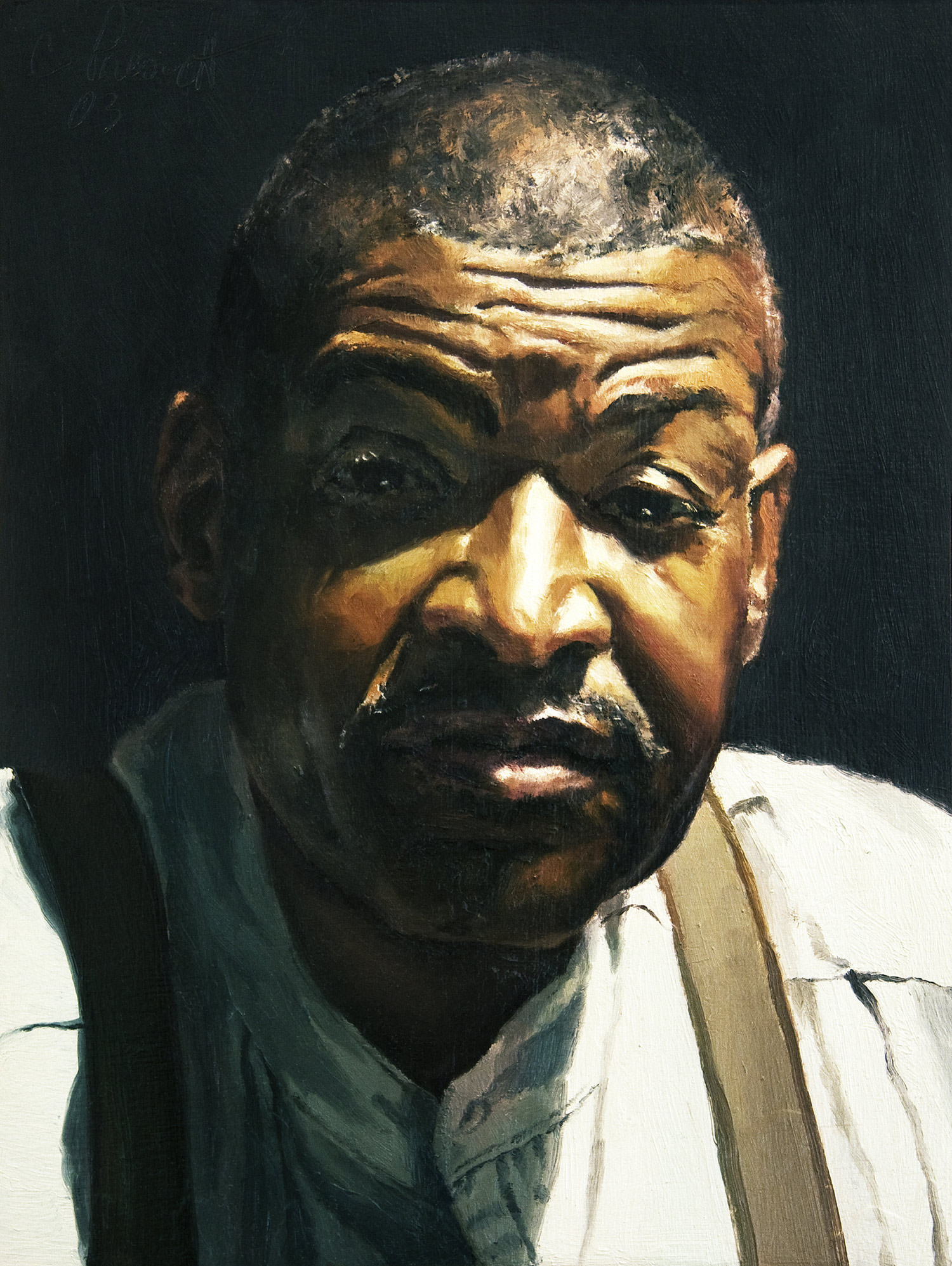 Barry, Painting by Catherine Prescott