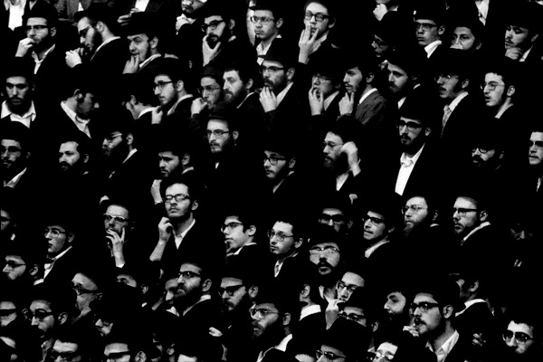 Hasidim, Photography by Claudio Edinger