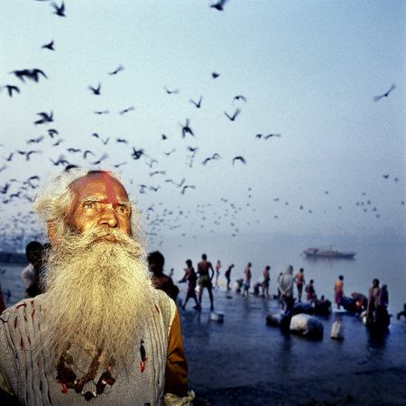 In India, Photography by Claudio Edinger