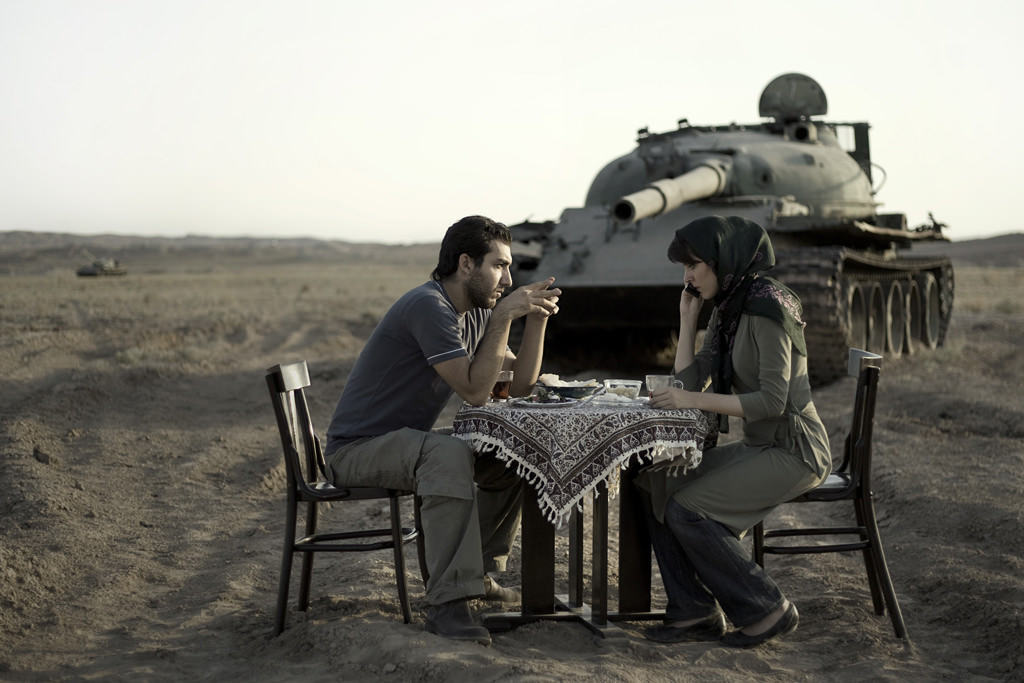 Today's Life and War, Photography by Gohar Dashti