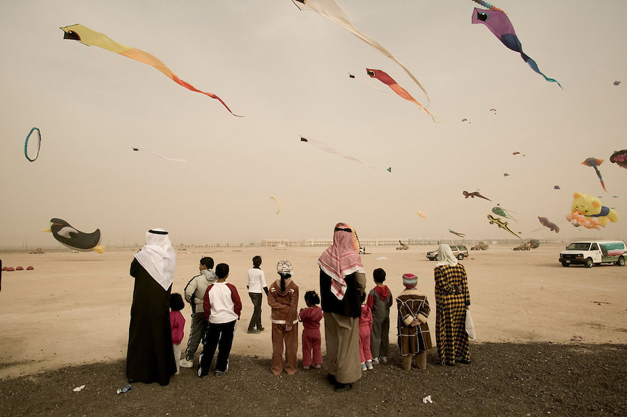 Kite Competition in Kuwait, Tudu area, Photography by Matilde Gattoni